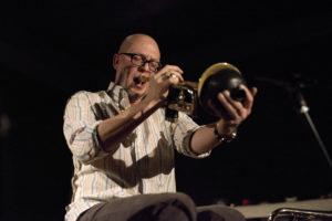 Marco Von Orelli (trumpet), Sheldon Suter (drums)